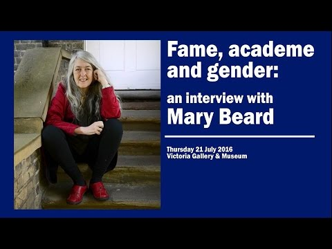 Fame, academe and gender: An interview with Mary Beard