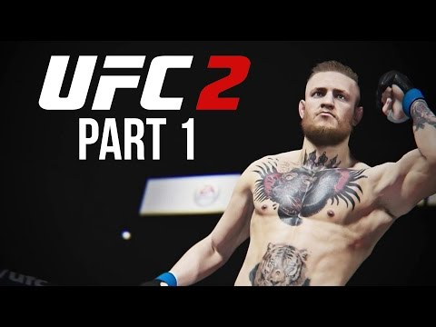 UFC 2 Gameplay Walkthrough Part 1 - LET'S FIGHT (Career Mode)
