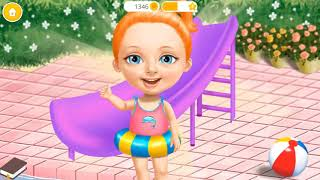 Fun Baby Girl Care Kids Games - Sweet Girl Fun Cleanup 4 - Learn Daily Chores And Care Of Cute Pets