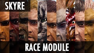Skyrim Mod: Skyrim Redone - The Race Module