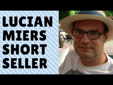Interviewing Lucian Miers: East London's most feared Short Seller
