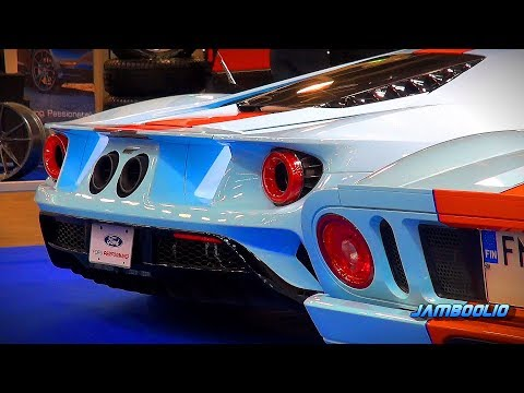 Every Generation of Ford GT in Gulf Livery - ACS 2019