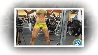 Самая красивая девушка тоже занимается фитнесом!