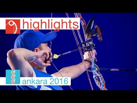 Compound Highlights | Ankara 2016 World Archery Indoor Championships