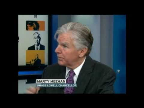 UMass Lowell Chancellor Marty Meehan on WBZ TV's Keller @ Large Part 2 12/26/10