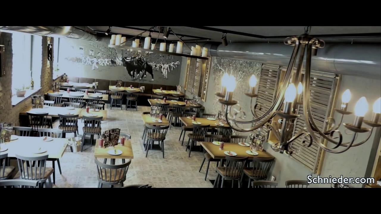 Restaurant Tapas Factory Stuhlfabrik Schnieder Youtube