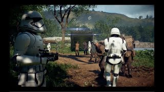 Star Wars Battlefront 2 - Takodana First Order!