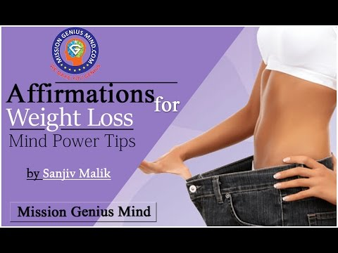 Mind Power Hindi 15 - Affirmations For Weight Loss - Sanjiv Malik