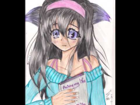 my anime drawing 2 _  kawaii noor