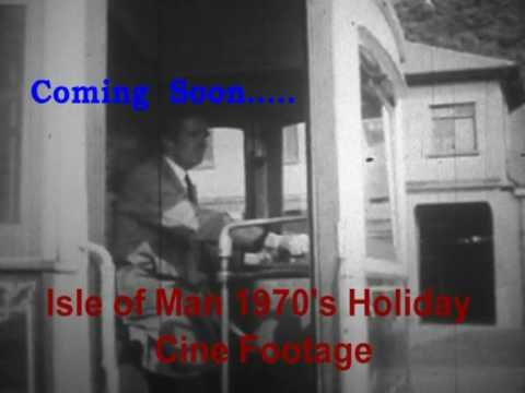 Isle of Man 1970's Holiday Cine Film