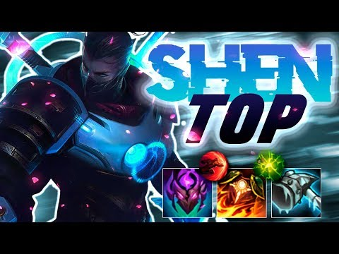 SKINS = SKILL IN LEAGUE!! Pulsefire Shen Top - League of Legends thumbnail