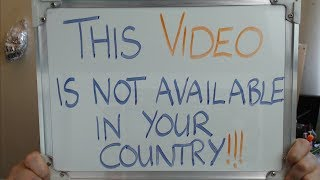 THIS VIDEO IS NOT AVAILABLE IN YOUR COUNTRY !!