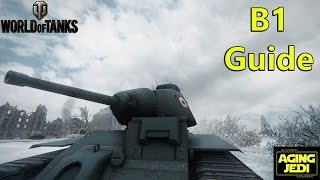 b1 guide review gameplay world of tanks