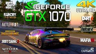 GTX 1070 Test 10 Games in 4K (i7 8700k)