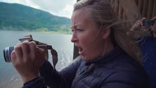 Farmen-Stine i sjokk: Så sjøormen i Seljord
