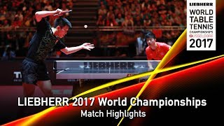 2017 World Championships | Highlights MA Long vs. FAN Zhendong (Final)