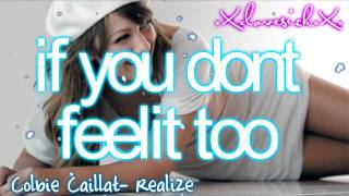 Colbie Caillat- realize lyrics + download