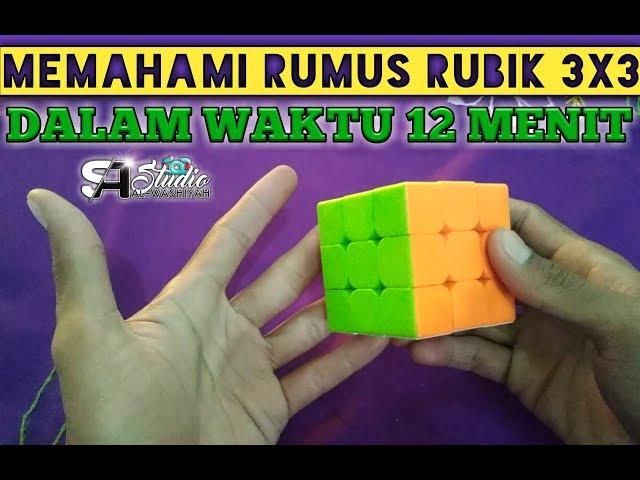 Video Rumus Rubik 3x3 Paling Mudah Dipahami