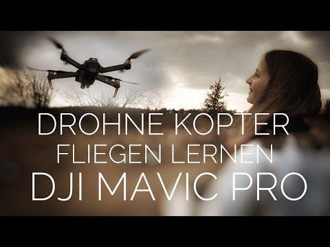 Töchterchen lernt Kopter Drohne fliegen DJI Mavic Pro deutsch Mavic Air