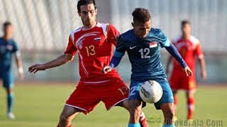Video SYRIA - SINGAPORE 1-0   Goal World Cup Qualifiers. download MP3, 3GP, MP4, WEBM, AVI, FLV Desember 2017