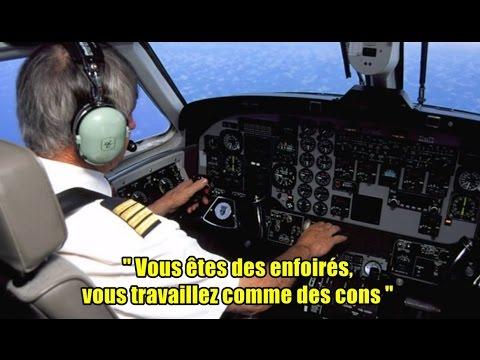 ► Un échange radio violent entre un pilote d'Air France et une tour de contrôle !