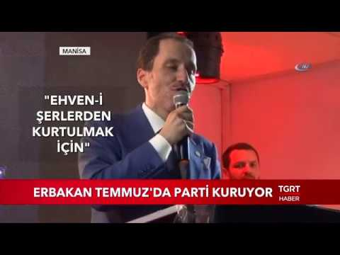 Fatih Erbakan Temmuz'da Parti Kuruyor