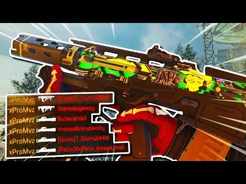 (BO4) BEST MADDOX RFB CARBON COBRA VARIANT CLASS SETUP AFTER 1.09 UPDATE! (BLACK OPS 4)