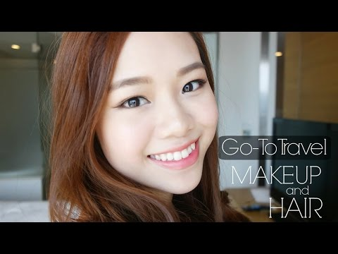 Go-to Travel Makeup & Hair ( in Bahasa with Eng subs ) | Molita Lin