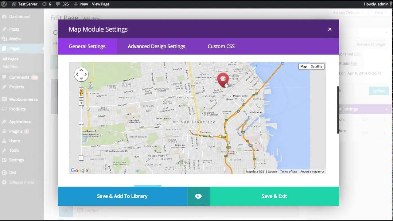 The divi builder map module youtube - Divi map module ...