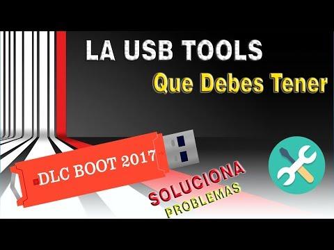 La USB Tools Para Reparar Sistemas - DLC Boot 2017 - Herramienta Indispensable