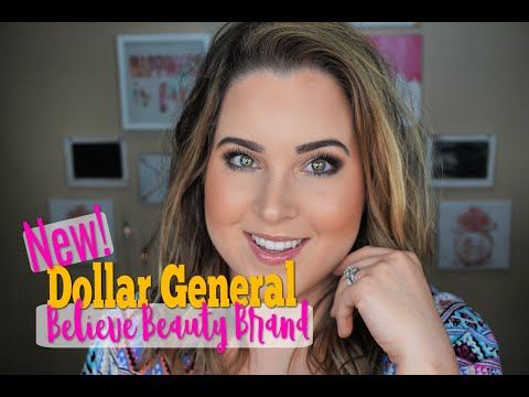 Full Face Believe Beauty! A New Dollar General Makeup Line!!