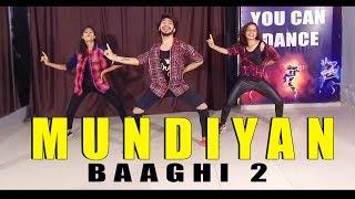 Mundiyan song dance choreography Baaghi 2 | Vicky Patel Dance | Tiger Shroff