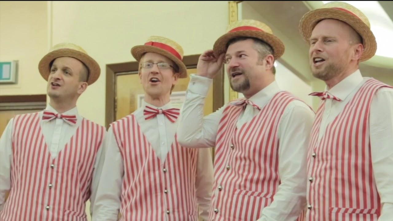 Barbershopping Reaches Evrywhere  (Barbershop Quartet)
