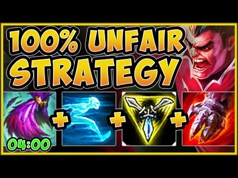 THIS IS WHY CHALLENGERS ARE ABUSING ZOOM DARIUS BUILD! DARIUS S9 TOP GAMEPLAY! - League of Legends