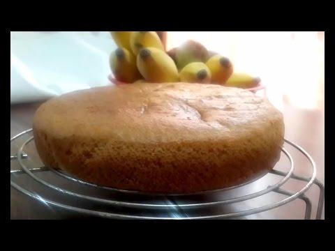 Moist and Spongy Eggless Vanilla Cake