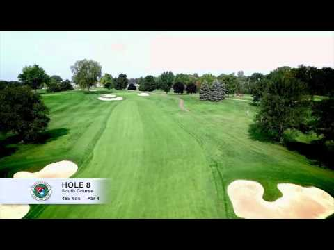 Hole 8 | South Course | Oakland Hills Country Club | Bloomfield Hills, MI