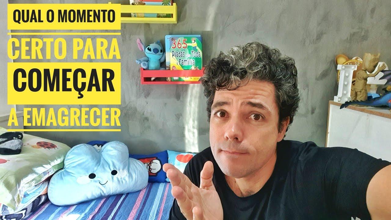 DESCUBRA O MOMENTO CERTO PARA COMEÇAR A EMAGRECER