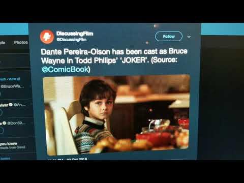 Young Bruce Wayne has been Cast in the Joker Movie