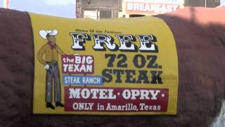 The Big Texan Steak Ranch, Amarillo, Texas