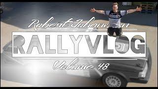 NYA DESIGNEN PÅ RALLYBILEN! | RALLYVLOG VOL 48