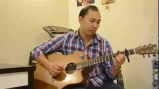 Căn nhà màu tím Guitar