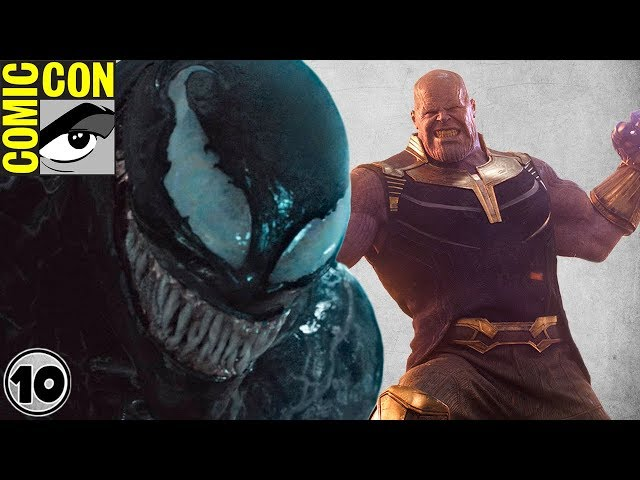 Top 10 Best Moments from SDCC 2018