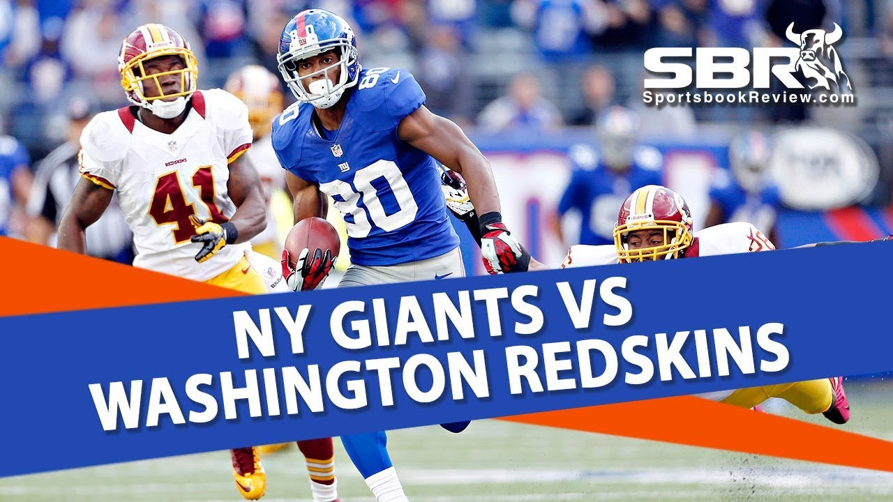 Image result for Washington Redskins vs New York Giants pic