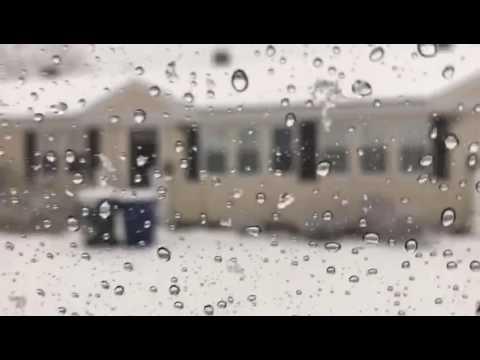 Snow in South Portland Maine Dec 2016