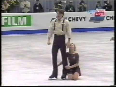 Elena Berezhnaya & Anton Sikharulidze RUS - 2001 European Championships LP