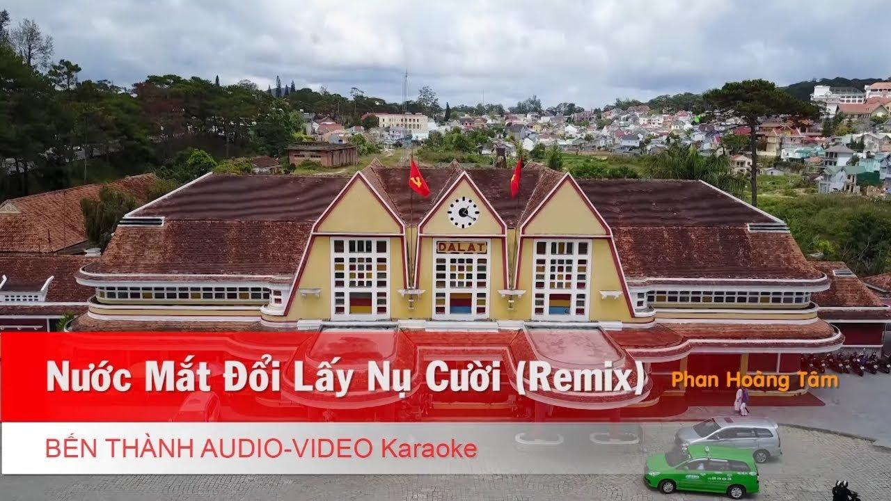 KARAOKE Nhạc Trẻ 2018 | Nước Mắt Đổi Lấy Nụ Cười (Remix) - St. Phan Hoàng Tâm | Beat Chuẩn