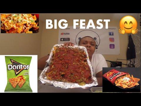 Dorito Nachos | Poppin' Jalapeño | Mukbang!!! | MAM EATING SHOW