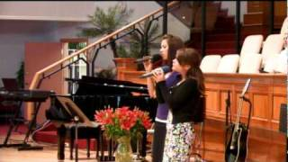Инна и Беатриса Перепечкина - Я колени склоняю | Church Sulamita