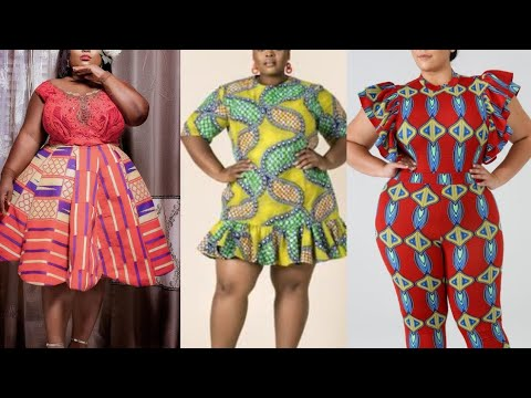 Stylish and Classy Dress Styles for the Curvy, Bold and Beautiful: +40 Stunning African Dress Styles