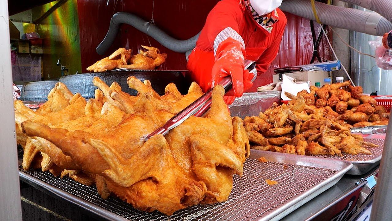 Korean Cauldron Fried Chicken Master / 치킨 통닭의 달인 / Korean Street Food